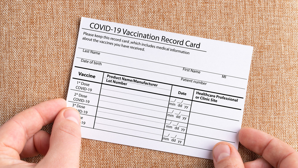 Don't Post A Photo Of Your Vaccine Card. Here's Why