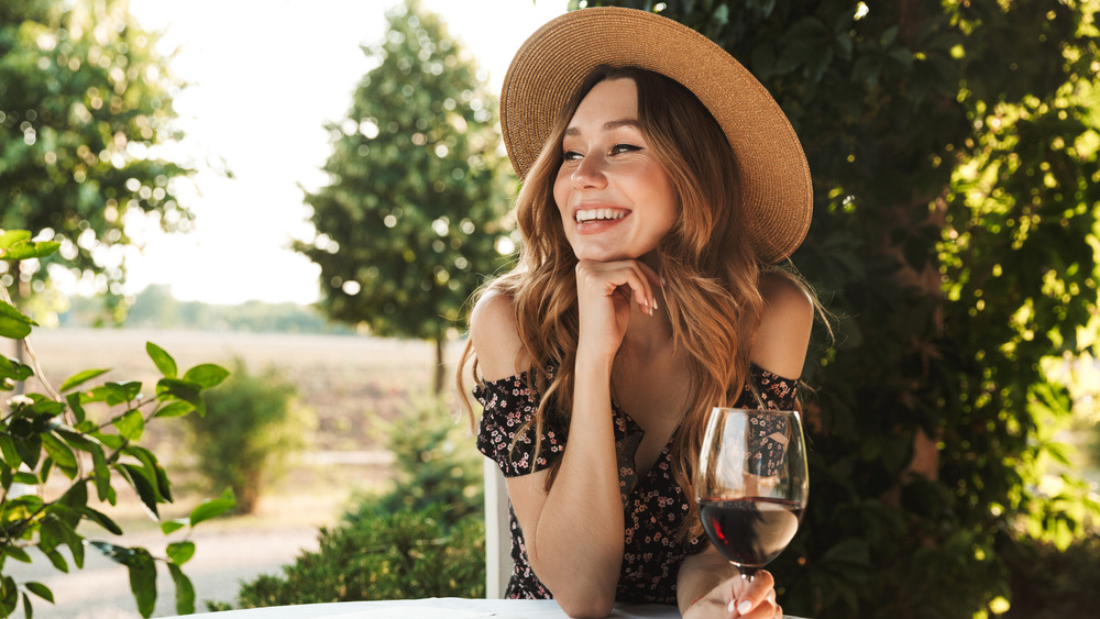Drinking wine might make you more attractive. Here's why