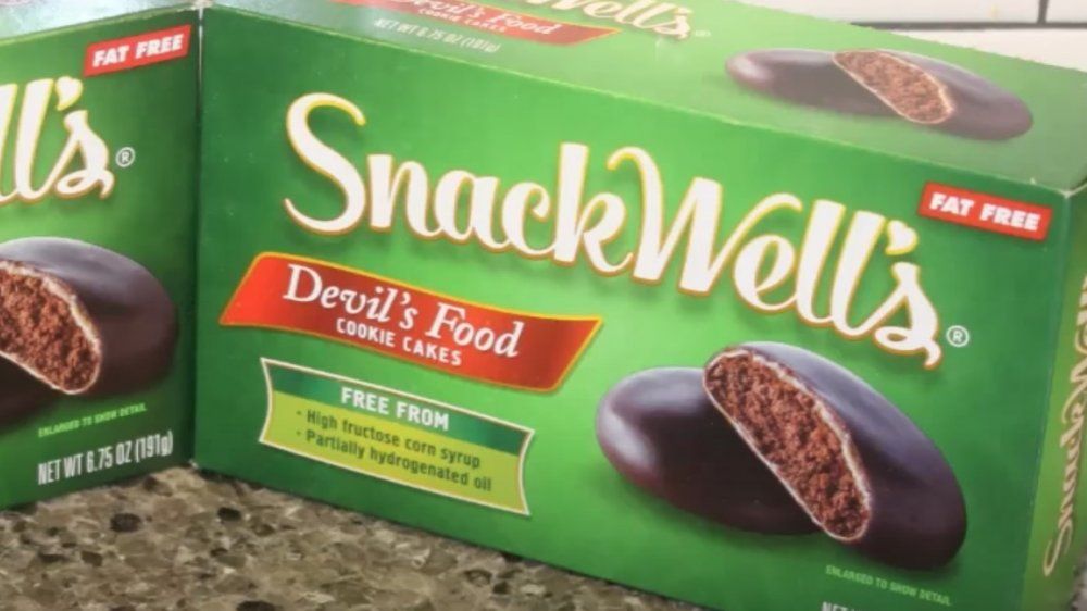Two boxes of Snackwells cookies