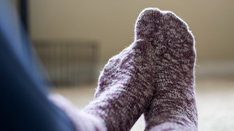 The real reason you should wear socks to bed